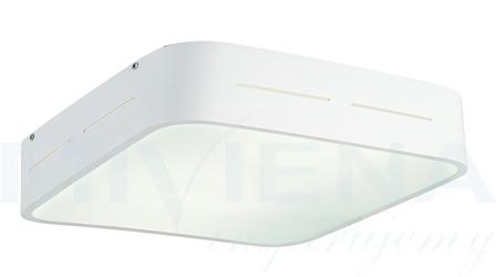 Terry plafon 2 biały szkło 38 cm
