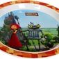 Naczyń dla dzieci rycerz blaszka zestaw do posiłków