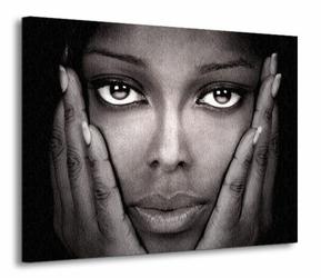 Beautiful Black - Obraz na płótnie