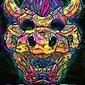 Psychoskulls, bowser, mario nintendo- plakat wymiar do wyboru: 59,4x84,1 cm