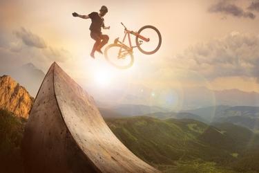 Fototapeta rower 104a