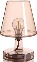 Lampa stołowa Transloetje brązowa
