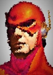 Polyamory - flash, dc comics - plakat wymiar do wyboru: 21x29,7 cm