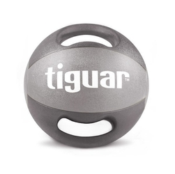 Piłka lekarska z uchwytami 8 kg tiguar - 8 kg