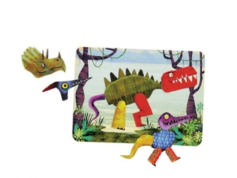 Dinozaury magnetyczne konstrukcje