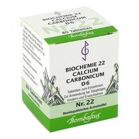 Biochemie 22 calcium carbonicum d 6 tabl.