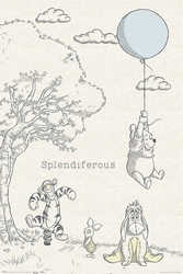 Kubuś Puchatek i Przyjaciele - plakat bajkowy
