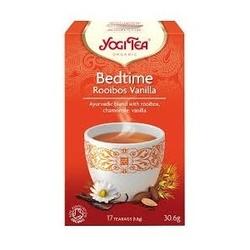 Herbata spokojny sen rooibos vanilla  bio 17 torebek, yogi tea