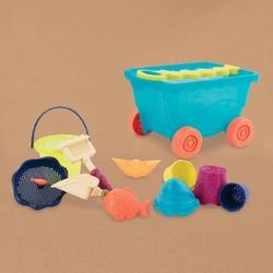 B.toys wózek-wagon z akcesoriami plażowymi - niebieski