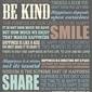 Szczęście - plakat motywacyjny