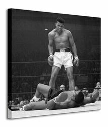 Muhammad Ali Ali vs Liston - Corbis - Obraz na płótnie