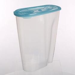 Pojemnik na przyprawy i artykuły sypkie: mąkę, płatki lub makaron tontarelli nuvola dispenser 3 l niebieski