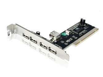 Gembird Karta PCI Kontroler USB 2.0 4 porty