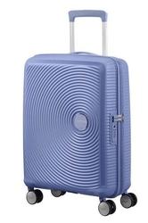 Walizka kabinowa american tourister soundbox 55 cm powiększana - blue