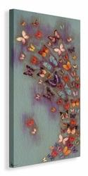 Mottled Aubergine  - Obraz na płótnie