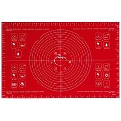 Mastrad - stolnica silikonowa 40 x 60 cm - czerwona