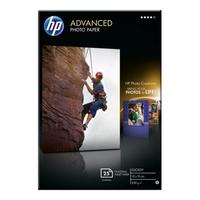 Papier fotograficzny hp advanced, błyszczący — 25 arkuszy10 x 15 cm bez marginesów