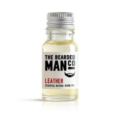 Bearded man co - olejek do brody skóra - leather 10ml