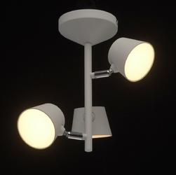 Lampa wisząca do biura 3 x led z pilotem demarkt techno biała 717010903