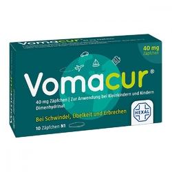 Vomacur 40 czopki