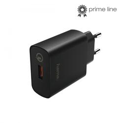 Hama ładowarka sieciowa qualcomm quick charge 3.0 czarna