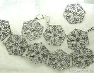 Isolda - komplet srebrnej biżuterii