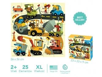 Budowa puzzle podłogowe jumbo 25 el.