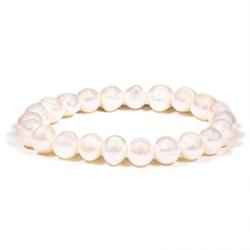 Bransoletka z kamieni - perły