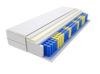 Materac kieszeniowy sofia 105x120 cm średnio twardy visco memory jednostronny