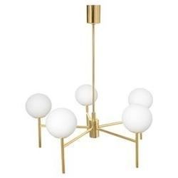 Kaspa :: lampa wisząca aero złota