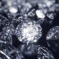 Obraz błyszczące tło diamonds