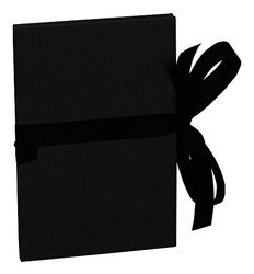 Album na zdjęcia Uni Leporello pionowy czarny