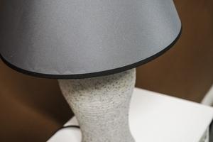 Lampka nocna szary marmurek h - 46 cm