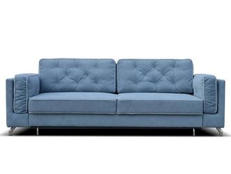 Elegancka sofa bastien z funkcją spania i pojemnikiem na pościel