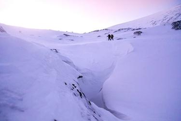 Fototapeta para ludzi wędrujących po górach fp 1838