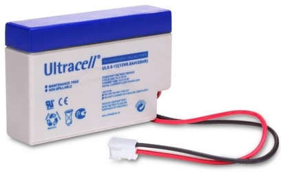 Akumulator agm ultracell ul 12v 0.8ah terminal jst żelowy - szybka dostawa lub możliwość odbioru w 39 miastach