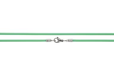 Naszyjnik silikonowy 2613-2 zielony