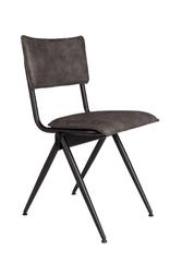 Dutchbone krzesło willow antracytowe 1100403