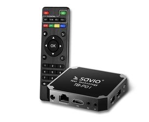 Savio Smart TV Box Premium One 216 TB-P01 - Szybka dostawa lub możliwość odbioru w 39 miastach