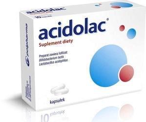 Acidolac x 20 kapsułek - 20 kapsułek