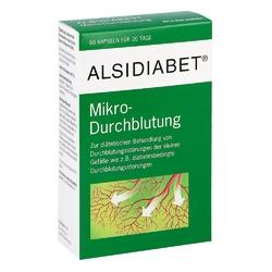 Alsidiabet diabetiker mikro kapsułki na ukrwienie