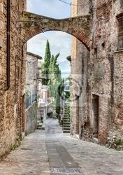 Fototapeta antyk włoski alley