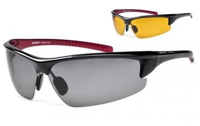 Okulary arctica s-123a polaryzacja i wymienne szkła