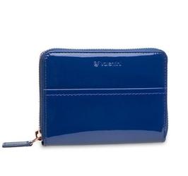 Mały damski portfel valentini like a diamond - niebieski