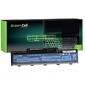 Green cell bateria do acer aspire 5532 11,v 4400mah