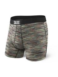 Bokserki męskie saxx vibe boxer modern fit - wielokolorowy