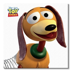 Toy story slinky dog - obraz na płótnie