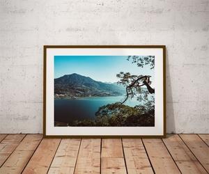 Danau buyan - plakat premium wymiar do wyboru: 30x20 cm