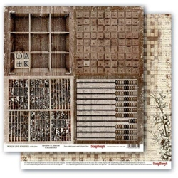 Papier 30x30cm WORDS LIVE FOREVER-ArchiveandAbacus - 04