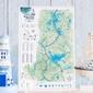 Mapa zdrapka mazury
